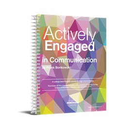 The cover of Actively Engaged in Communication