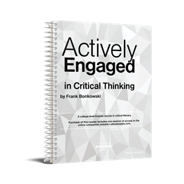 The cover icon of Actively Engaged in Critical Thinking